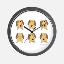 One of These Dachshunds! Wall Clock