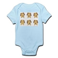 One of These Dachshunds! Infant Bodysuit