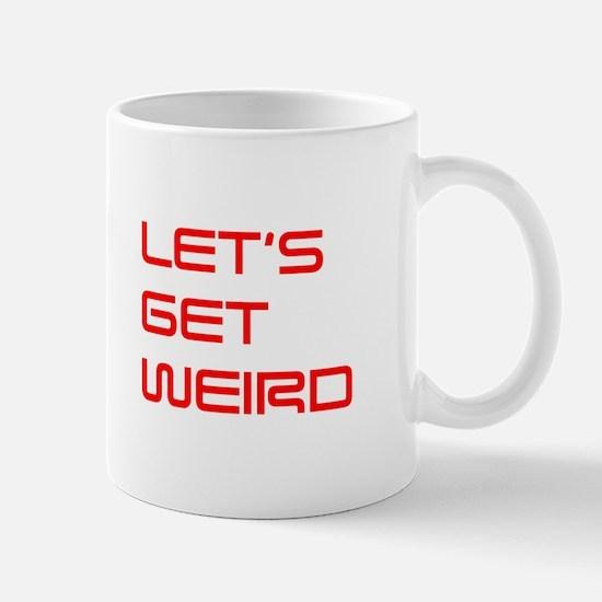 lets-get-weird-saved-red Mug
