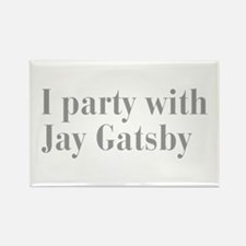 jay-gatsby-bod-gray Rectangle Magnet