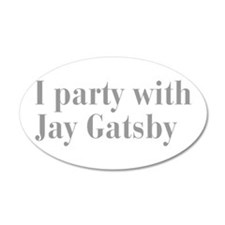 jay-gatsby-bod-gray Wall Decal