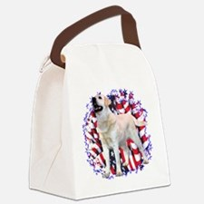 LabyellowPatriot.png Canvas Lunch Bag