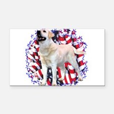 LabyellowPatriot.png Rectangle Car Magnet