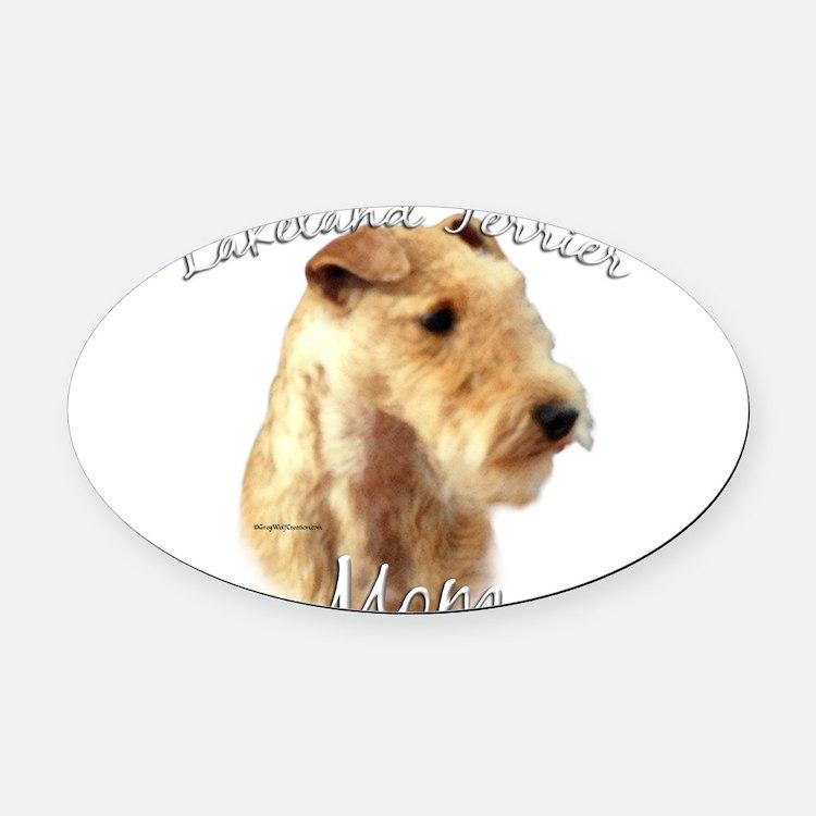 LakelandMom.png Oval Car Magnet