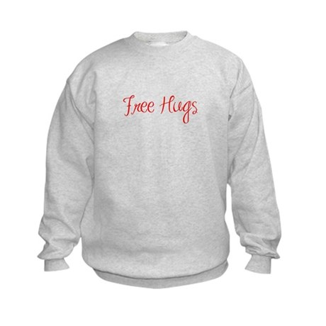 free-hugs-sexy-red Sweatshirt