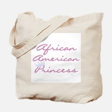 Crown African American Tote Bag