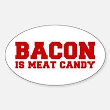 bacon-is-meat-candy-fresh-brown Decal