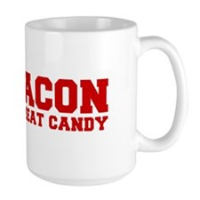 bacon-is-meat-candy-fresh-brown Mug