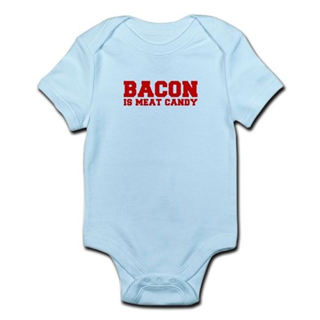 bacon-is-meat-candy-fresh-brown Body Suit