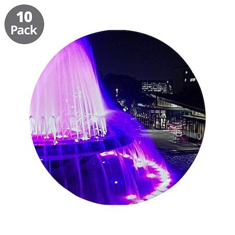 """Fountain at GP LA CA 3.5"""" Button (10 pack)"""
