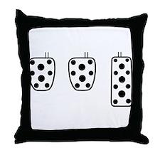 3 better than 2 Throw Pillow