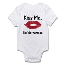 Kiss me, I'm Vietnamese Infant Bodysuit