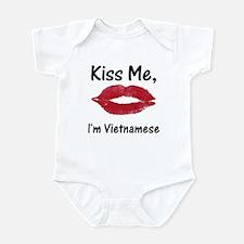Kiss me, I'm Vietnamese Infant Bodysuit