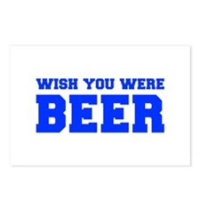 wish-you-were-beer-fresh-blue Postcards (Package o