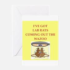 lab rats Greeting Card