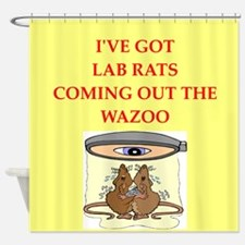 lab rats Shower Curtain