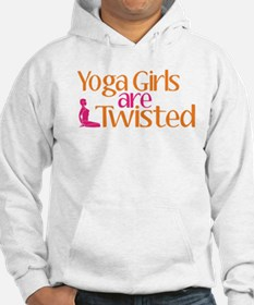 Yoga Girls Are Twisted Hoodie