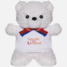 Yoga Girls Are Twisted Teddy Bear