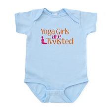 Yoga Girls Are Twisted Infant Bodysuit