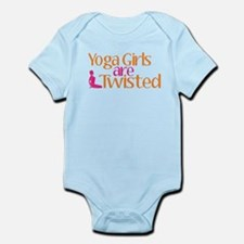 Yoga Girls Are Twisted Infant Bodysuit