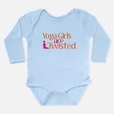 Yoga Girls Are Twisted Long Sleeve Infant Bodysuit