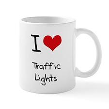 I love Traffic Lights Small Mug