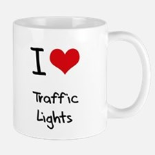 I love Traffic Lights Small Small Mug