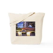 downtown L.A. scene Tote Bag