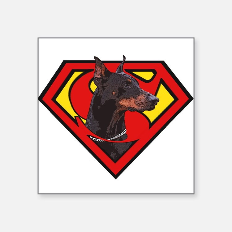 Super DoberMan Sticker