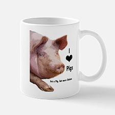 I Love Pigs Mug