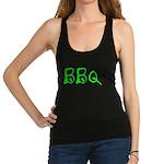 BBQ green Racerback Tank Top
