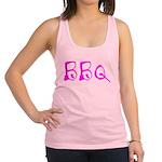 BBQ pink Racerback Tank Top