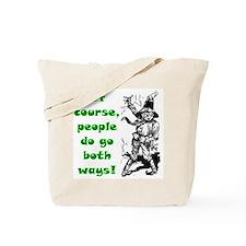 Emerald City Scarecrow of Oz Tote Bag