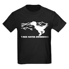T-Rex Hates Swimming T-Shirt