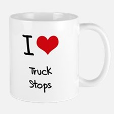 I love Truck Stops Mug