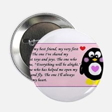 "Frienship Penguin 2.25"" Button"