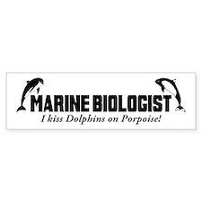 Marine Biologist Bumper Bumper Sticker