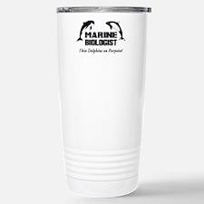 Marine Biologist Travel Mug