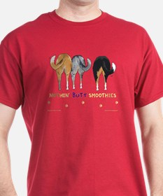 Nothin' Butt Smoothies Red T-Shirt
