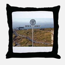 Lands End, Cornwall, England, UK 2 Throw Pillow