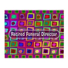 retired funeral director 2 Throw Blanket