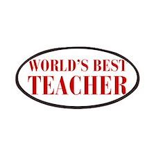 worlds-best-teacher-bod-brown Patches