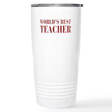 worlds-best-teacher-bod-brown Travel Mug