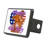 Humpy July 4th Rectangular Hitch Cover