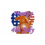 Humpy July 4th Wall Sticker