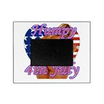 Humpy July 4th Picture Frame