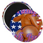 Humpy July 4th Magnet
