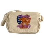 Humpy July 4th Messenger Bag