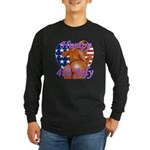 Humpy July 4th Long Sleeve T-Shirt