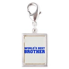 Worlds best-brother-fresh-blue Charms
